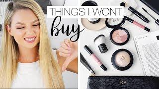 Download 10 Things I Wont Be Buying - Makeup Anti-Haul Video