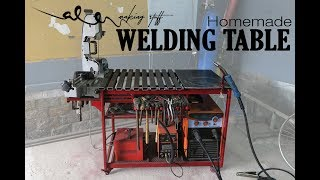 Download Homemade WELDING TABLE (rotary table) Video