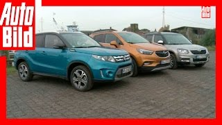 Download Der neue Mokka X im Vergleich - Opel Mokka X vs Vitara und Yeti (2016) - Review/Test/Vergleich Video