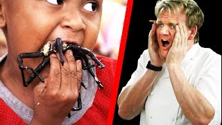 Download 10 Times Gordon Ramsay Ate EXOTIC FOOD! Video