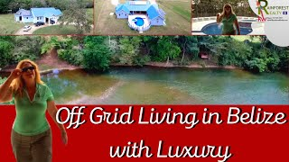 Download Off Grid Living in Belize with Luxury Video
