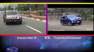 Download Isuzu mu-X vs Toyota Fortuner - Head 2 Head Video