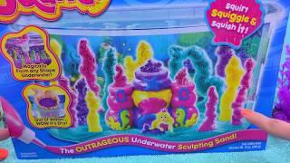 Download Waterproof Sand - Sqand Mermaid Castle Tank Maker Playset - Cookieswirlc Water Play Video Video