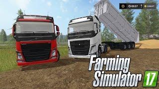 Download Farming Simulator 17 | Caminhão Volvo FH 440 I Shift! Mais Caçamba Random | PT-BR | Video