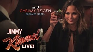 Download 3 Ridiculous Questions with Jimmy Kimmel and Chrissy Teigen Video