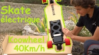 Download Skateboard électrique KOOWHEEL 40km/h / Aliexpress Video