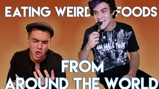 Download Eating the Weirdest Foreign Foods Video