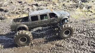 Download 6 Door RC F-350 Mega Truck Mudding Video