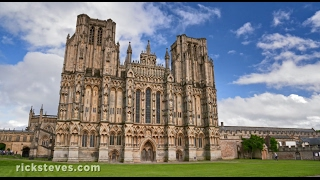 Download Wells, England: Medieval Center and Cathedral Video