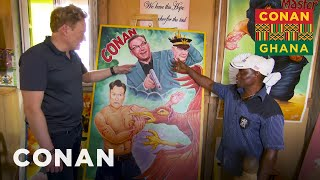 Download Conan Brings His Ghanaian Movie Poster To Life - CONAN on TBS Video