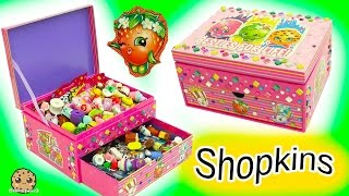 Download Surprise Blind Bags + Season 6 Chef Club Shopkins - Make Your Own Jewelry Box Video