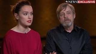 Download What Mark Hamill, Daisy Ridley say new 'Star Wars: The Last Jedi' trailer might reveal Video