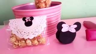 Download Mesa de dulces Minnie Mouse tutorial parte 1 Video