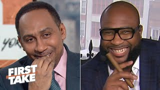 Download Stephen A. eats crow after his wrong LSU-Clemson prediction | First Take Video