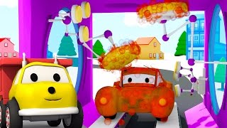 Download The Car Wash: learn colors with Ethan The Dump Truck | | Educational cartoon for children Video