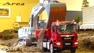 Download BEST OF RC TRUCK ACTION & MEETINGS! RC CONSTRUCTION-SITE! MAN! MB ACTROS! SCANIA! VOLVO! LIEBHERR Video
