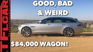 Download Here's What's Good, Bad and Weird about the 2018 Jaguar XF S Sportbrake Video