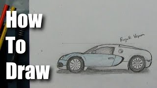 Download How To Draw - Bugatti Veyron - Sports Car Video