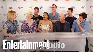 Download 'Westworld' Cast Dish On Working On Set, How Much They Understand | SDCC 2017 | Entertainment Weekly Video