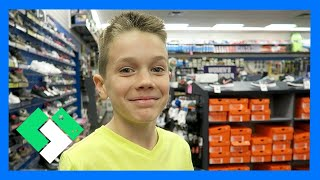 Download NEW BASKETBALL SHOES SHOPPING (Day 1432) | Clintus.tv Video