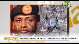 Download SERAP TO BUHARI : Sharing $322M Abacha's Loot To Households Is Mis-Targeted Spending Video