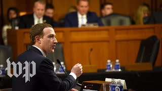 Download 5 awkward moments at the Facebook hearing Video
