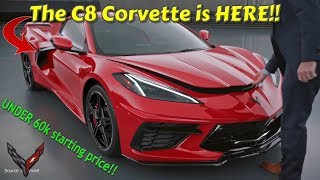 Download The C8 CORVETTE is HERE. UNDER 60k starting price. 0-60 in UNDER 3 seconds. Video