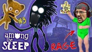Download AMONG THE SLEEP Teddy Bear Plays & Shadow Mans HUNGRY! R.I.P !! FGTEEV Super RAGE! (Part 3) Video