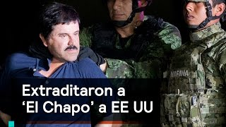 Download Extraditan a Joaquín 'El Chapo' Guzmán a EU Video