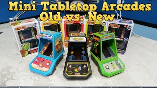 Download Mini Tabletop Arcades - Old vs. New Video