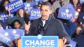 Download Obama cerró su campaña en Virginia con un discurso arrollador Video