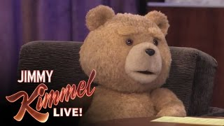 Download Ted on Jimmy Kimmel Live Video