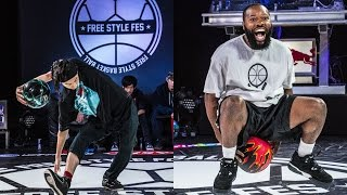 Download #FreestyleFes2016 #02 1stRd2 TAM vs BASKETBALL MAN #FreestyleBasketball Video