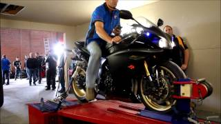 Download Yamaha YZF R1 Big Bang on Dyno Video