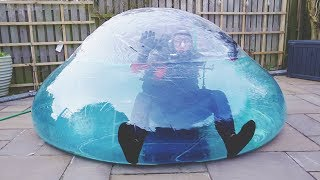 Download I Went Scuba Diving in a Zorb Ball & You Have to See What Happened… (Swimming on Land Challenge) Video