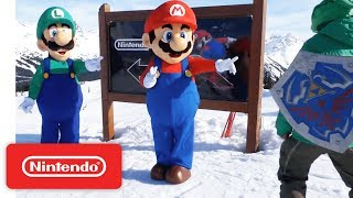 Download Mario, Luigi and Friends Visit Whistler Blackcomb Video