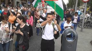 Download Ireland Palestine Solidarity Campaign protest march against the war in Gaza Video