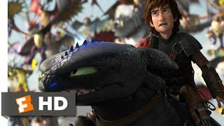 Download How to Train Your Dragon 2 (2014) - Toothless vs. The Bewilderbeast Scene (10/10) | Movieclips Video