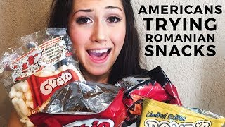 Download AMERICANS TRY ROMANIAN SNACKS 🇷🇴 Video