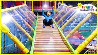 Download indoor playground fun for kids with giant slides! Video