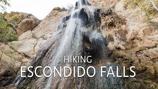 Download Escondido Falls Hike: Malibu's Three Tiered Waterfall Video