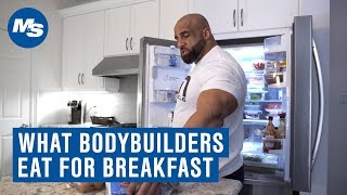 Download What Bodybuilders Eat For Breakfast | How Fouad ″Hoss″ Abiad Starts His Day Video