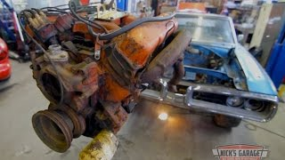 Download Super Rare! 1970 Dodge Coronet Convertible 4 Speed - 440 tear down Video