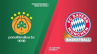 Download Panathinaikos Athens - FC Bayern Munich Highlights | Turkish Airlines EuroLeague, RS Round 19 Video