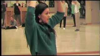 Download Maggie Aulin gästkoreograf på Danscenters danslinje år två Video