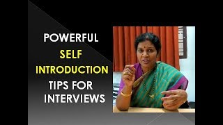 Download POWERFUL SELF INTRODUCTION TIPS - IN ENGLISH Video