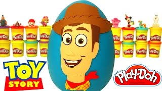 Download Huevo Sorpresa Gigante de Woody de Toy Story en Español de Plastilina Play Doh Video