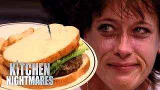 Download Customer Starts to CRY After Being Served Shambolic Burger! | Kitchen Nightmares Video