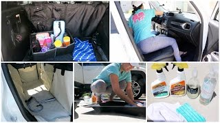 Download CAR CLEANING TIPS + HOW I KEEP MY CAR ORGANIZED | CAR TOUR! Video