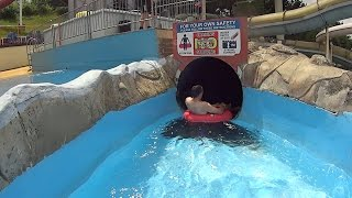 Download Scary Mississippi Water Slide at Splashdown Poole Video